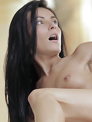 Cock craving Mindy seduces her man with a wet and wild blowjob and a horny stiffie ride in her landing strip pussy